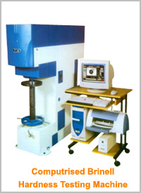 Computerised Brinell Hardness Testing Machine