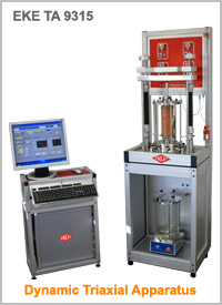 Dynamic Triaxial Apparatus : EKE-TA 9315