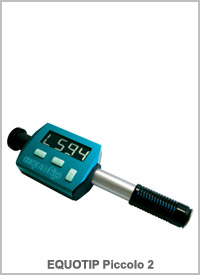 Equotip Piccolo 2 : Portable Metal Hardness Tester
